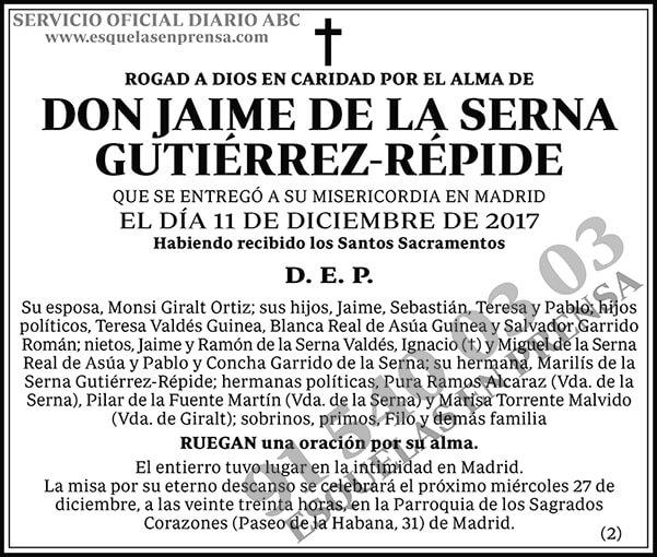 Jaime de la Serna Gutiérrez-Répide